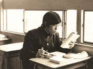 A diligient young Ryuho Okawa